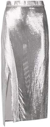 Paco Rabanne sequin party skirt