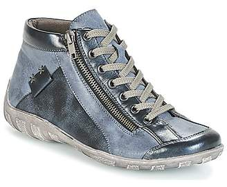 Remonte Dorndorf FIDJA women's Shoes (High-top Trainers) in Blue