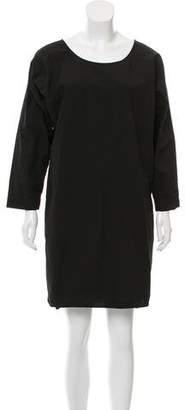 Nili Lotan Oversize Knee-Length Dress