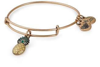 Alex and Ani (アレックス アンド アニ) - Alex and Ani Pineapple Color Infusion Expandable Charm Bracelet
