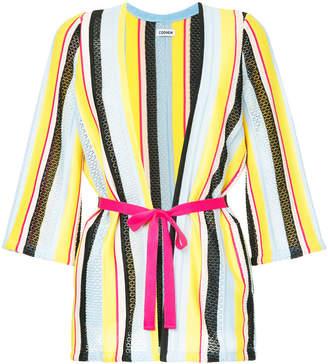 Coohem striped cardigan