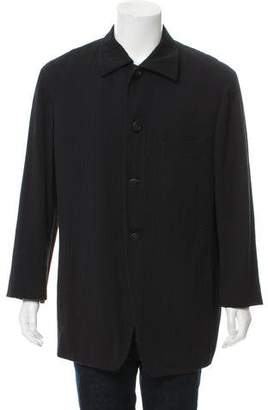 Issey Miyake Deconstructed Plissé Jacket