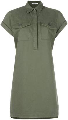 Alexander Wang military shirt dress