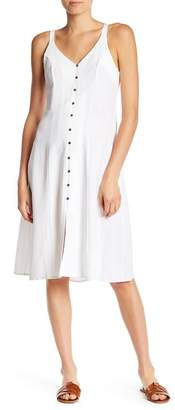 Dee Elly Button Front Midi Dress