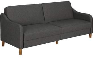 DHP Jasper Coil Linen Upholstered Futon Couch, Multiple Colors