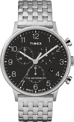 Timex Waterbury Chronograph Bracelet Watch, 40mm
