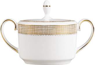 Wedgwood Gilded Weave Sugar Bowl (8cm)