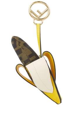 Fendi Leather Banana Charm