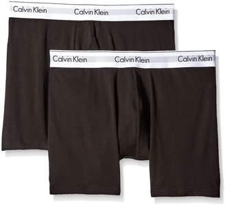Calvin Klein Men's Underwear 2 Pack Modern Cotton Stretch Boxer Briefs