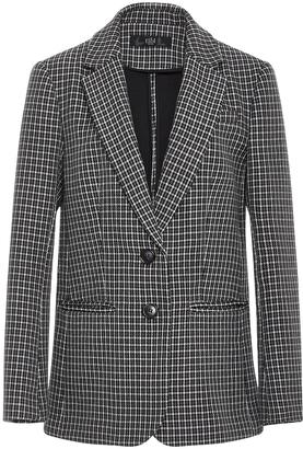 Tibi Boyfriend Gingham Suit Jacket $765 thestylecure.com