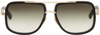 Dita Black Mach One Aviator Sunglasses $700 thestylecure.com