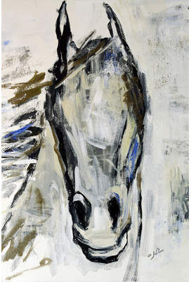 Laurèl Foundry Modern Farmhouse Picasso's Horse I Painting Print on Wrapped Canvas