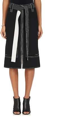 Derek Lam Women's Belted Midi-Skirt