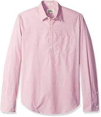 Casual Terrains Men's Classic-Fit Vintage Style Pop-Over Shirt .