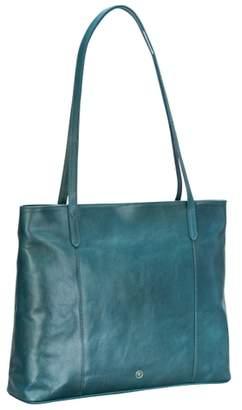 Maxwell Scott Bags Stylish Petrol Leather Women S Tote Handbag