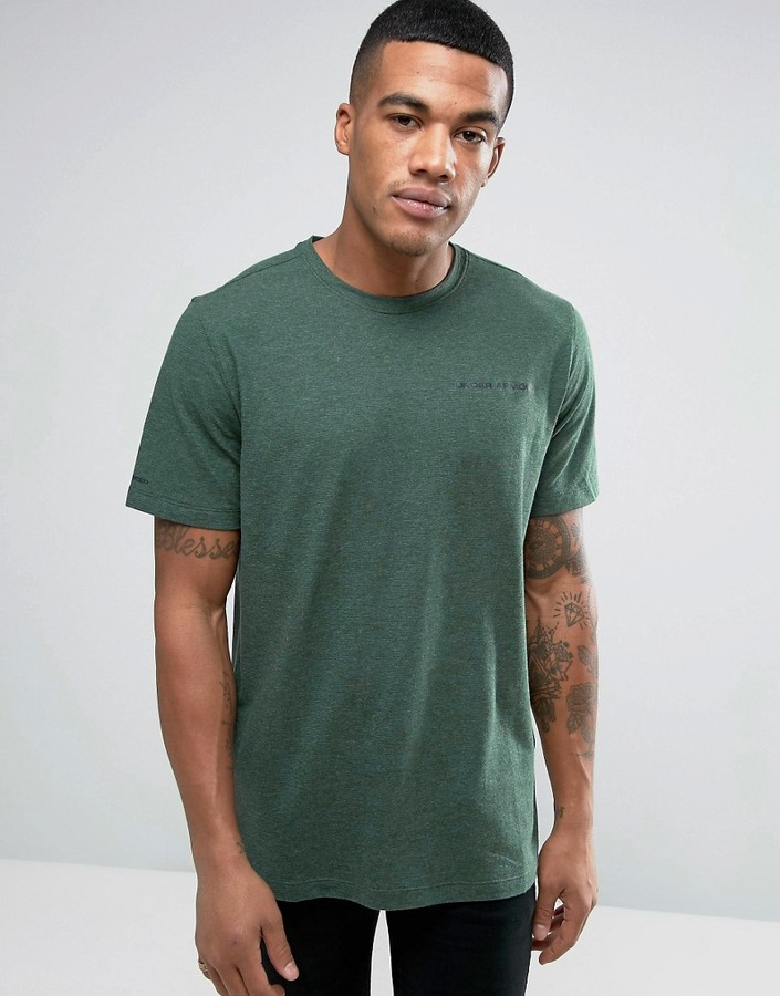 Under Armour Charged Cotton T-Shirt In Green 1277085-358