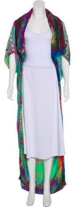 Camilla Embellished Silk Cardigan