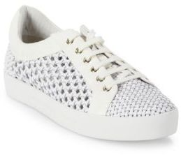 Joie Duha Woven Leather Sneakers $298 thestylecure.com