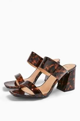 Topshop SELINA Tortoiseshell Heel Sandals