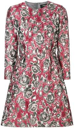 Paule Ka floral brocade dress