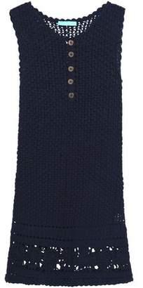 Melissa Odabash Crochet-Knit Cotton Coverup