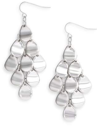 Halogen Molten Kite Earrings