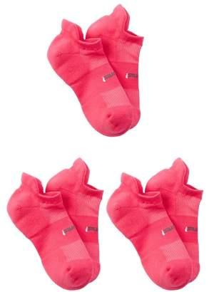 FEETURES SOCKS High Performance Cushion No Show Socks (Medium) - Set of 3