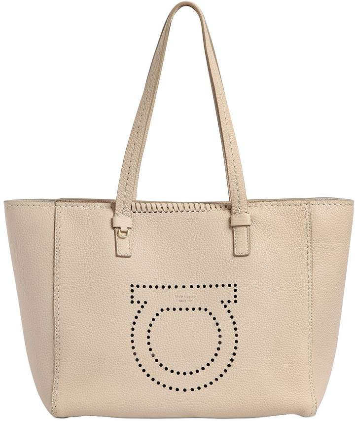 Medium Marta Gancio Leather Tote Bag