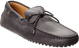 Tod's Lace Leather Loafer