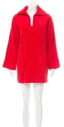 Lisa Marie Fernandez Terry Cloth Cover-Up Dress