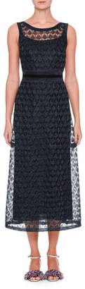 Missoni Sleeveless V-Back Midi Gown