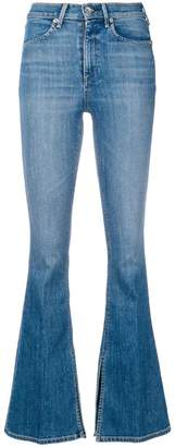 Rag & Bone high waisted flared jeans