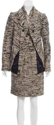 Proenza Schouler Silk Skirt Suit