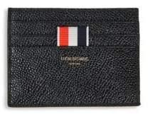 Thom Browne Pebble-Grain Leather Card Holder