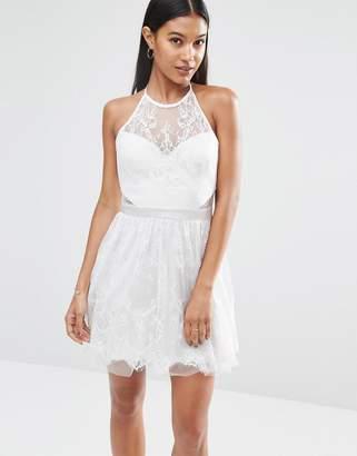Lipsy Ariana Grande for Lace Mini Prom Dress