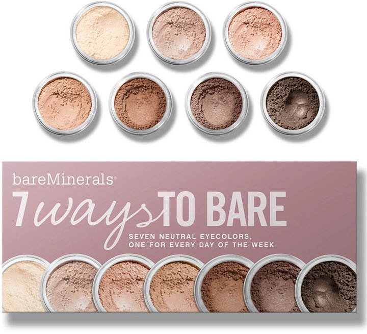 Bare Escentuals bareMinerals 7 Ways to Bare Makeup Value Set