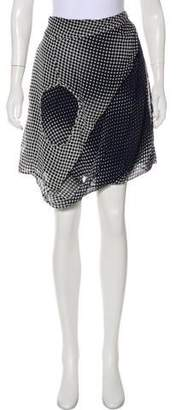 Tess Giberson Polka Dot Mini Skirt