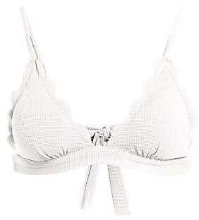 Marysia Swim Women's Fixed Triangle Bikini Top