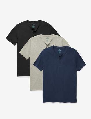 Tommy John Second Skin Henley Tee 3 Pack