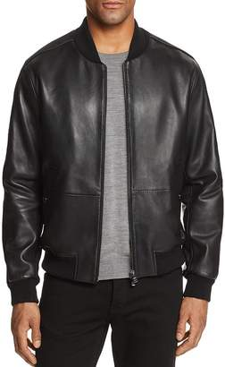 HUGO BOSS Boss Mirton Leather & Suede Bomber Jacket - 100% Exclusive
