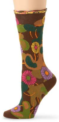 Ozone Women's Flower Camo Socks