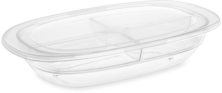 Williams-Sonoma Ice & Go Four Section Oval Platter