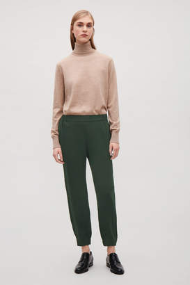 Cos ELASTIC WAIST AND CUFF TROUSERS