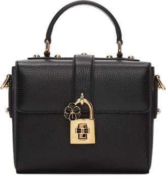 Dolce & Gabbana Black Small 'Dolce Soft' Bag $1,995 thestylecure.com