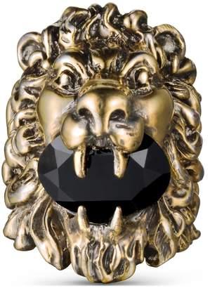399aea46e Gucci Lion head ring with Swarovski