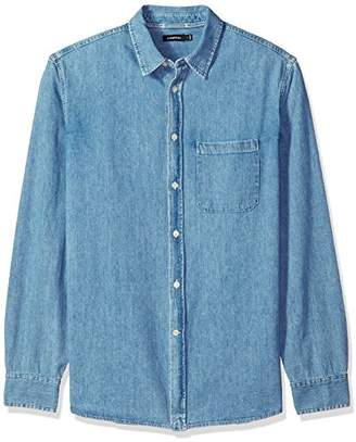 J. Lindeberg Men's Denim Button Down Shirt