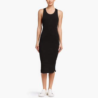 James Perse RIBBED TANK DRESS