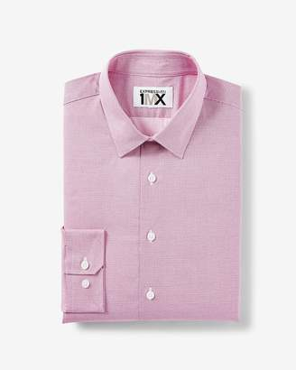 Express Extra Slim Easy Care Micro Dot 1Mx Dress Shirt