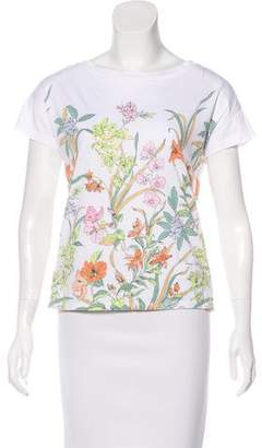 Tommy Bahama Floral Bateau Neck T-Shirt