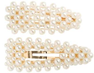 BP 2-Pack Imitation Pearl Hair Clips